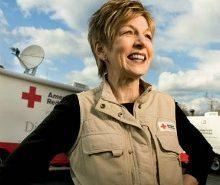 Linda Mathes, American Red Cross