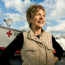 Linda Mathes, American Red Cross