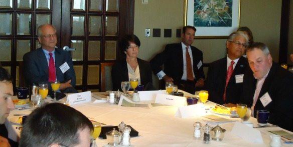 Alan Berson (Leadership Conversations), Suzan Zimmerman (CACI)