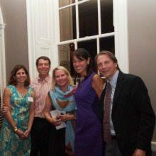 From Left: Ashley and Grace Wilson, Olwen Pongrace, Debra Kraft, Scott Ticker, Choral Arts