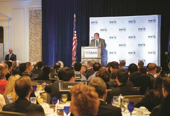 Justice Antonin Scalia, Keynote Speaker, NVTC TITANS breakfast
