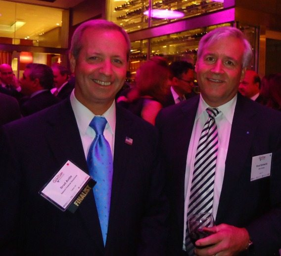 Brad Antle (Salient Federal Solutions), Brad Schwartz (Blue Canopy Group)
