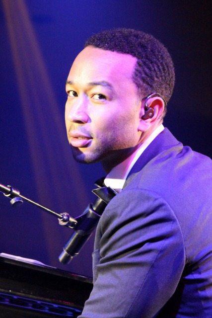 John Legend, Performing at Fight Night