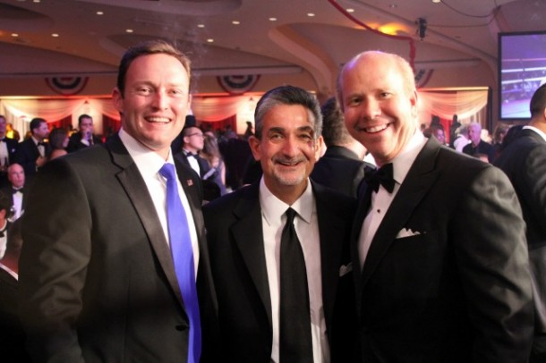 Ted Leonsis and Guests at Fight Night 2013