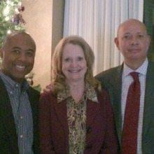 Louis Montgomery (Reffett Associates), Kay Curling (Salient Federal Solutions), Irv Towson (Reffett Associates)