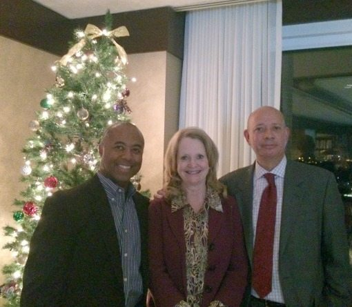 Louis Montgomery (Reffett Associates), Kay Curling (Salient Federal Solutions), Irv Towson (Reffett Associates)