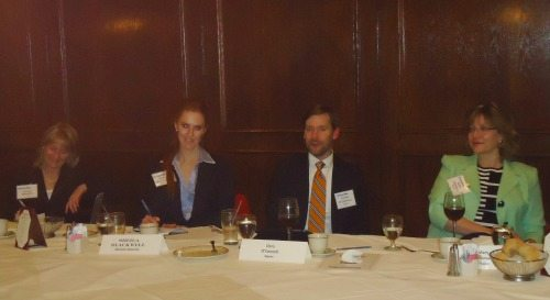 Jackie Berger (Artel), Sheila Blackwell (Decision Sciences), Chris O'Connell (Appian), Mary Kirkman (Appian)