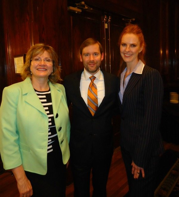 Mary Kirkman (Appian), Chris O'Connell (Appian), Sheila Blackwell (Decision Sciences)
