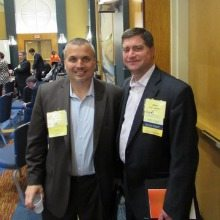Bill Annibell (Sapient) and Allen Ashby (Sapient) at the MOC Awards