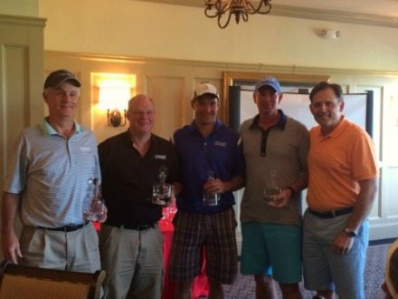 A ThanksUSA charity golf tournament was held May 12 at Creighton Farms Golf Club in Aldie, Va.