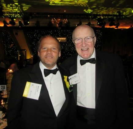 Mark Ein (Washington Kastles, 2014 E&Y EOY Winner), Raymond Rice (Capital Search Group)