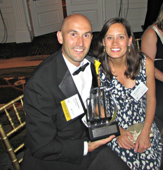 Yuri Horwitz (Sol Systems, 2014 E&Y EOY Greater DC Award Winner), Mrs. Horwitz