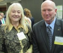 Jody Brown (CACI International) and Ken Asbury (CACI International)