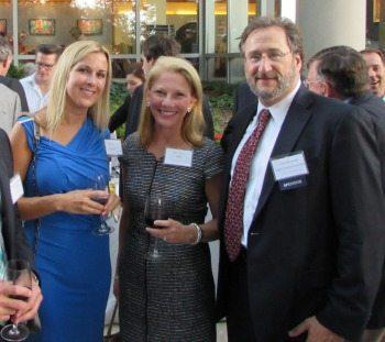 Emily Fuerst (STG, Inc.) Ann Altman (IBM) and Larry Rosenfeld (Sage Communications)