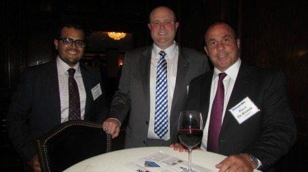 Sanjay Daswani (Tailored Man), Tom Peitler (CALIBRE), and Philip De-Bodene (CALIBRE)