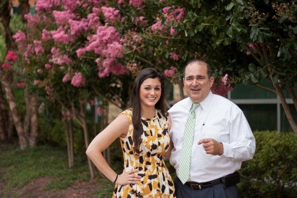 Jeff Giangiuli (CALIBRE) and his daughter Samantha Giangiuli.