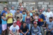 Volunteers from the 2014 DC IT group on the job site in Nicaragua. Photo from