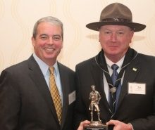 Event chair Paul Dillahay and honoree Ken Asbury