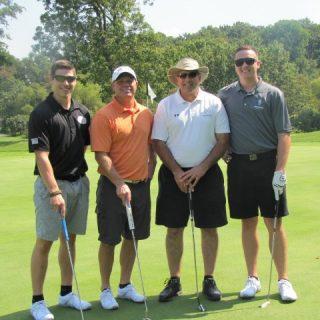 Brayden Keller, John Lewis (employed by Shoulder 2 Shoulder), Ken Falke (Founder of Boulder Crest), and Dylan Keller