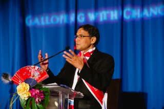 Zia Islam presenting at a USPAACC event, 2014