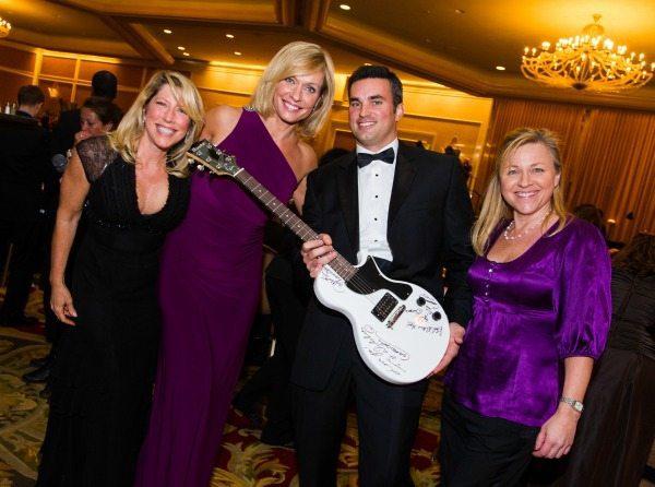 Cathy Eunice, Anita Brikman, Doug Kammerer, and Michele Anthony, Kidney Ball 2013