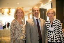 From left: Marijo Ahlgrimm, CFO American Institutes for Research; Greg Baroni, CEO Attain; and Sally Turner, President of The Women's Center Board of Directors