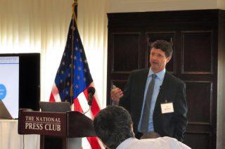 John Blatchford speaks at The National Press Club
