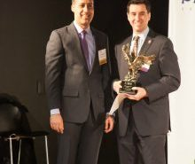 WashingtonExec Founder and CEO JD Kathuria and TJHSST Principal Evan Glazer