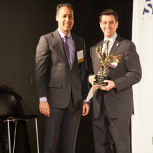 WashingtonExec Founder and CEO JD Kathuria and TJHSST Principal Evan Glazer