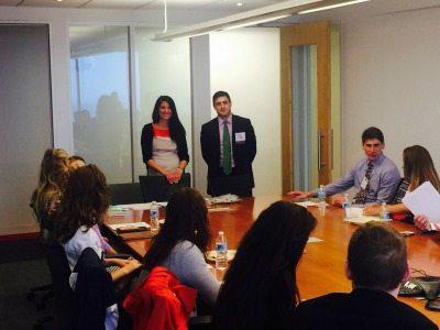 Amy Sutton and Adam Chandler, WashingtonExec NextGen Beltway Leaders Speakers