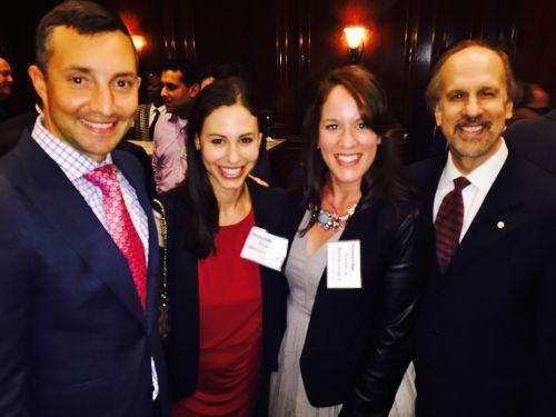 Joe Punaro, IronArch Technology; Stacy Brownstein, Attain; Angela Baroni Berzonsky, Avision Group, LLC; and Greg Baroni, Attain