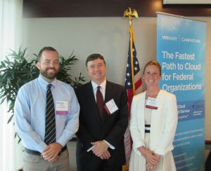 Matt Goodrich, FedRAMP at GSA; Rob Graham, Carpathia, Inc.; Megan Cacioppo, Carpathia