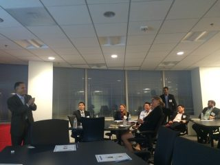 IBM's Joe Cubba speaks to WashingtonExec's Rising Stars group