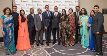 Attendees of the 2015 Annual Fundraising Gala, hosted by Pratham USA and held Oct. 3, 2015