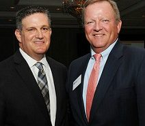 Mitchell D. Weintraub and Jim Cochrane at the Outstanding Corporate Citizenship Awards