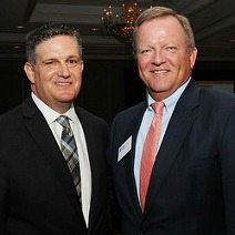 Mitchell D. Weintraub and Jim Corcoran at the Outstanding Corporate Citizenship Awards