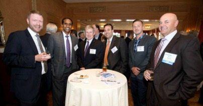 John Dvorak (Triple i), Balan Ayyar (Sevatec), John Fraser (ASM Federal, an Accenture Company), Josh Rubin (Sevatec), Ian Moore (GDIT), Rick White (Sotera Defense Solutions)