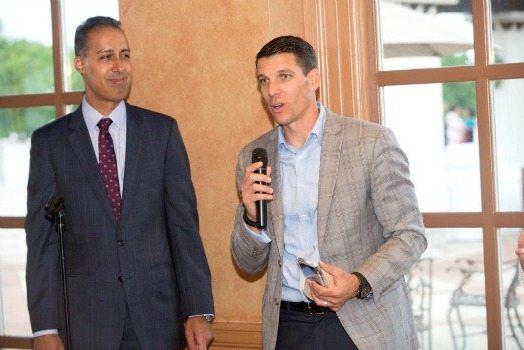JD Kathuria (WashingtonExec) and Jonathan Moneymaker (Altamira Technologies)