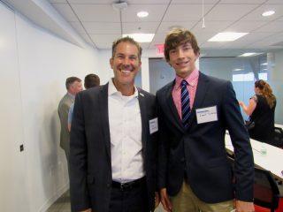 Rick Sullivan (HPE) and his son Grant Sullivan.