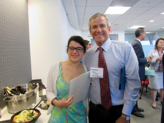 Andrew Lieber (Management Concepts Inc.) and his daughter Annie