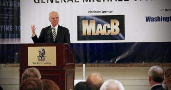 Photo of General Michael V Hayden at a WashingtonExec Event
