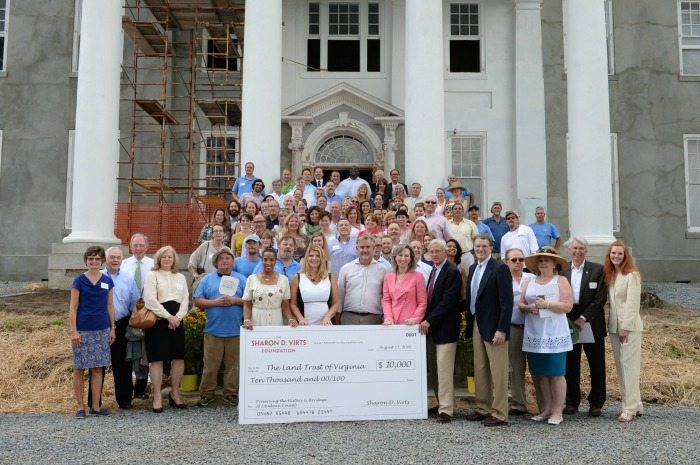 On the Steps of Selma Mansion, FCi Federal Founder and Chairman Sharon D. Virts launched her family Foundation, the Sharon D. Virts Foundation with FCi CEO & President Scott Miller, Congresswoman Barbara Comstock, Chair At-Large Phyllis Randall, Loudoun County Board of Supervisors and event guests.