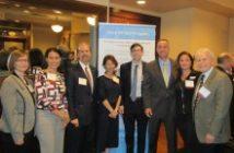 Greg Baroni, Attain; Jeff Carr, INOVA Health System; INOVA VIP 360 team