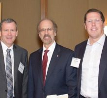 Mark Cabrey, Phacil; Greg Baroni, Attain; Gary Slack, XLA