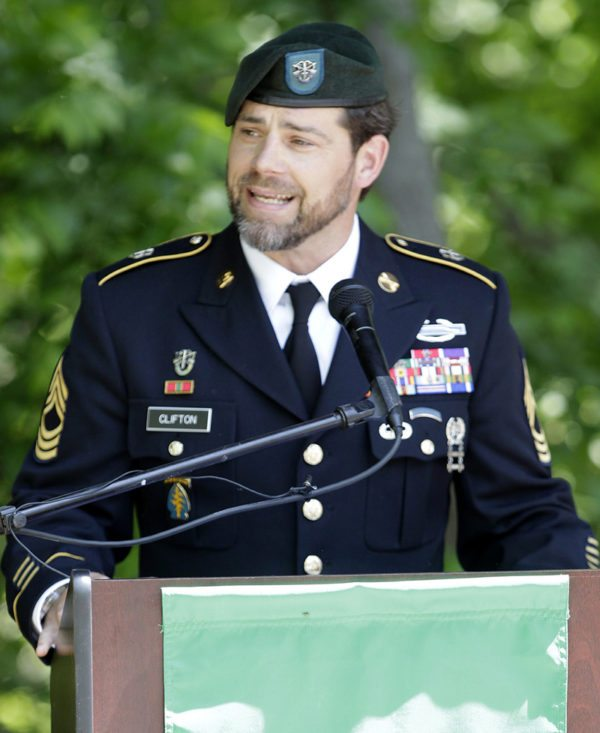 Retired Master Sgt. Sean Clifton, Special Ops analyst at MacB