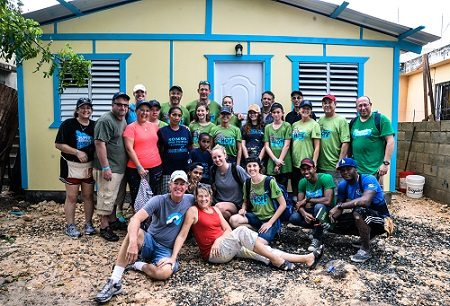Craig Reed joins NT Concepts team members in the Dominican Republic for the charity Youth With a Mission - San Pedro, Homes of Hope