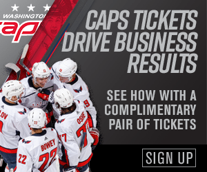 See How Capitals Tickets Can Drive Business With a Pair of Complimentary Tickets
