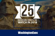 25 GovCon Execs To Watch in 2018