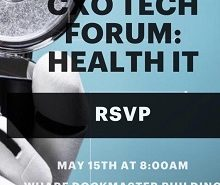 cxo tech forum: health IT