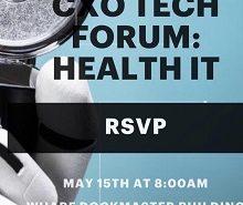 cxo tech forum: health IT